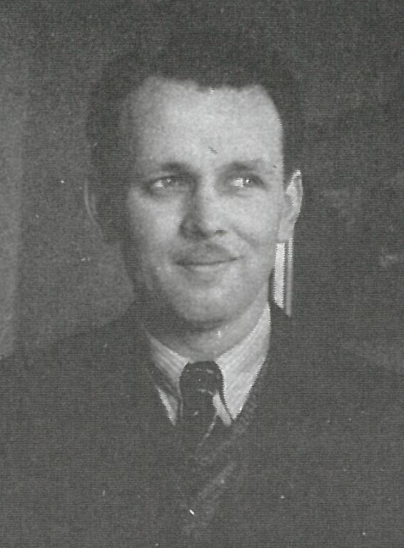 Karl Simek sen. im Jahr 1938